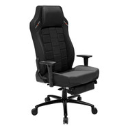 DXRacer CB120 Classic Series Gaming Chair Lumbar Support w/Leg Rest - Black