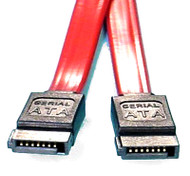 Serial ATA Cable SATA III 26AWG 50cm - Red