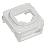 Flush Plate Adaptor - White
