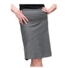 Organic Cotton Straight Skirt