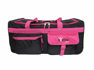 Black & Hot Pink Performance Bag