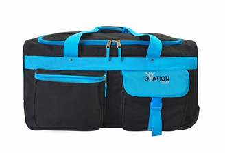 Black & Turquoise Medium Performance Bag