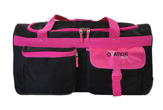 Black & Hot Pink Medium Performance Bag