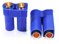 EC5 Male&Female Gold Banana Connector Plugs - 2 Pairs