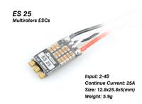 Spedix ES25 speed controller  2-4S DSHOT READY
