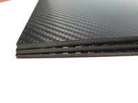 2mm 3K Twill premium Carbon Fiber sheet 200x300mm