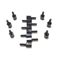 M2 5mmx6mm Male/Female Nylon Standoffs 12pk.