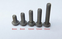 Titanium Hex Button Head M3 Screws