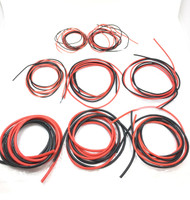 2 Meter Silicone Wire ( 1 Black , 1 Red )