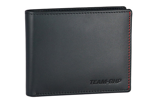 Team-BHP Leather Wallet