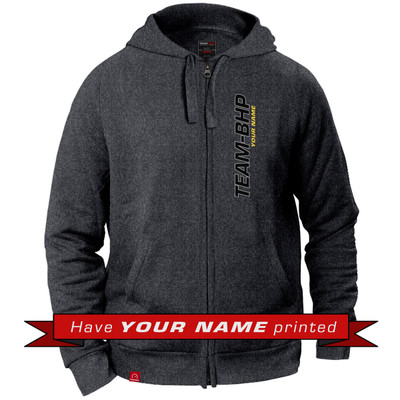 Personalized Hoodie (Anthracite Grey)