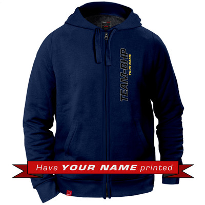 Personalized Hoodie (Navy Blue)