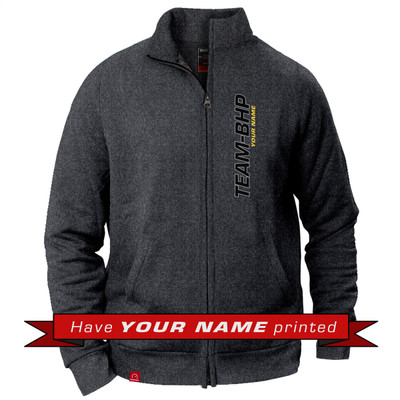 Personalized Collared Jacket (Anthracite Grey)
