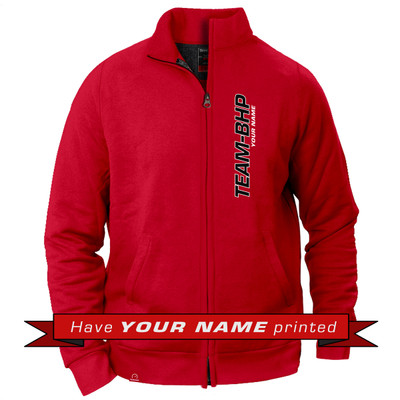 Personalized Collared Jacket (Red)