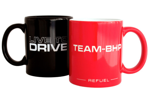 'Refuel' Engraved Mug
