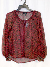 Jessica Simpson Women's Chime Top Red Cosmo XS NWT