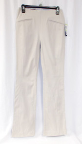 INC International Concepts Essentials Women's Pull On Dress Pants Tan Beige Regular US 4  NWT