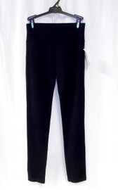 INC International Concepts Skinny Leg Pull-on Pants Black 4 NWT