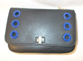 Inc International Concepts Korra Crossbody Black Blue Gold