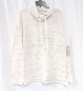 G.H. Bass & Co Cowl-Neck Long-Sleeve Sweatshirt Ivory S NWT
