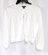 American Living Open Front Cream Cardigan L NWT