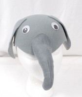 Elephant Felt Gray Animal Costume 21.5 Inch OSFM NIP