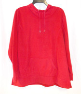 Style & Co Womens Red Sport Pull Over Long Sleeve Hoodie 3X NWT