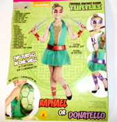 Teenage Mutant Ninja Turtles Raphael Donatello Dress Child Costume 4-6 NIP