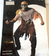Warrior Lord Adult Costume Mask 42-46 NWT