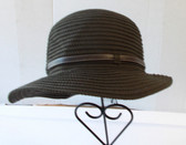 Womans Brown Bucket Style Hat OSFM NWT