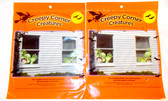 Creepy Corners Creatures Green Ghouls Window Covering Decor 14 x 14' 4 Windows NIP