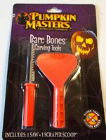 Bare Bones Pumpkin Carving Tools Saw Scoop NIP