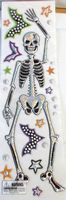 Bling Skeleton Window Gel Cling NIP