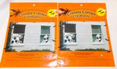 "Creepy Corner Creatures Ghost Window Decorations Reusable 14"" 2 Packages NWT"