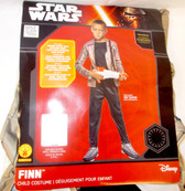 Finn Star Wars Force Awakens Child Costume Shirt Pants Large 12-14 NWT
