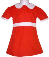 Little Orphan Annie Red Dress Costume Child M NWT