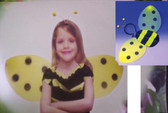 Bumblebee Bee Headband Wings Costume Dress-up NWT