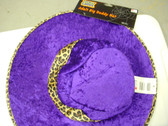Show Daddy Purple Hat Costume NWT