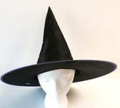 Witch Hat Black Purple Costume Dress-up NWT
