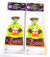 Candy Corn Jack-o-lantern Bat Boo Treat Bags Lot 40 NIP