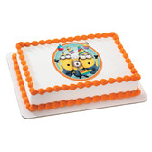 Despicable Me 2 Minions edible cake image NEW