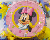 "Minnie Mouse Birthday Party Pinata Custom 15"" NEW"