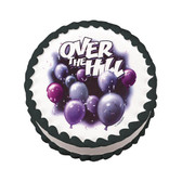 Over the Hill Cake Image Birthday Cake Party Favor New