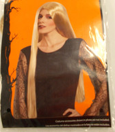 Long Blonde Straight Witch Wig Adult OSFM NIP