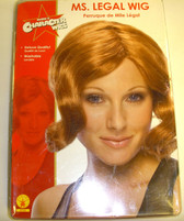 Miss Legal Miranda Sex in the City Lawyer Costume Wig Adult NIP