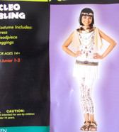 Cleo Bling Child Teen Costume Junior Size 1-3 NIP