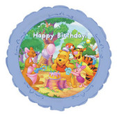 "Pooh Bear Mylar Balloon Birthday Party 18"" NIP"
