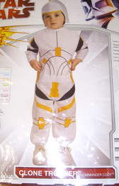 Clone Trooper Commander Cody Star Wars Star Trooper Costume Newborn 0-6 Months NIP