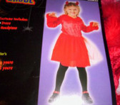 Devil Flame Dress Costume Dress-up NWT 2-4