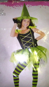 Ballerina Witch Girls Costume Dress Child S, M L NWT